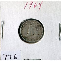 10 CENT COIN (CANADA) *1964*