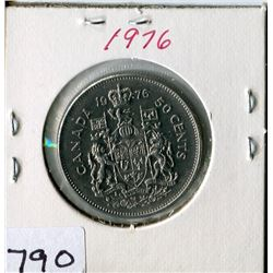 FIFTY CENT COIN (CANADA) *1976*