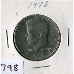 FIFTY CENT COIN (USA) *1973*
