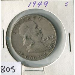 FIFTY CENT COIN (USA) *1949*