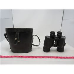 BINOCULARS (WITH LEATHER CASE)*ALL LENS COVERS* (7X50) *KURT MULLER* (TAYMOR)