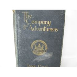 BOOK (THE COMPANY ADVENTURERS) *ISAAC COWIE*
