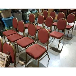 12 BANQUET CHAIRS