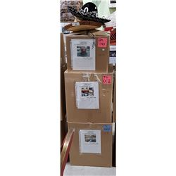 MOVIE PROP LOT - 2 SOMBREROS & 3 LARGE UNOPENED BOXES