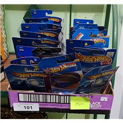 APPROX 38 UNOPENED HOT WHEELS CARS