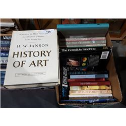 BOX OF 17 HARD COVER COFFEE TABLE BOOKS
