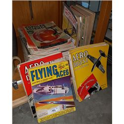 LARGE STACK OF 1940'S MAGAZINES