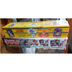 TWO SEALED CASES OF 1990'S BASEBALL CARDS