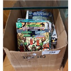 BOX OF ASSORTED VINTAGE COMICS