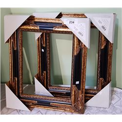 TWO ORNATE PICTURE FRAMES