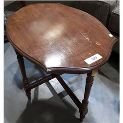 MAHOGANY OCCASIONAL TABLE - MOVIE PROP