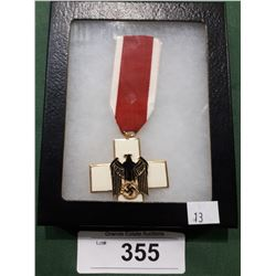 WWII NAZI MEDAL - REPRODUCTION IN DISPLAY BOX