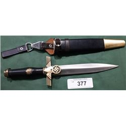 WWII NAZI DAGGER - REPRODUCTION