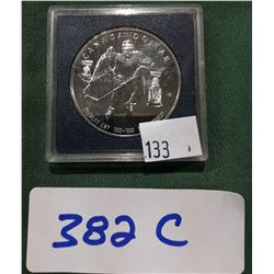 1993 STANLEY CUP CANADIAN BRILLIANT SILVER DOLLAR
