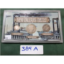 US NEW ORLEANS MINT MARK COLLECTION