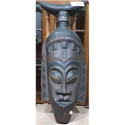 AFRICAN WOOD TRIBAL MASK