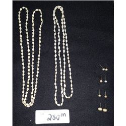FRESHWATER PEARL JEWELRY LOT