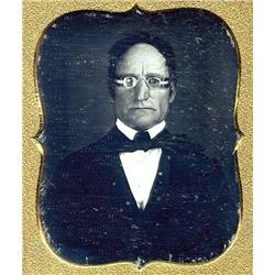 Daguerreotype   MAN WITH SUNGLASSES.