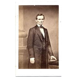 CDV  beardless LINCOLN, Brady