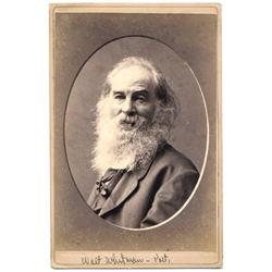 Cabinet   Unpublished WALT WHITMAN.