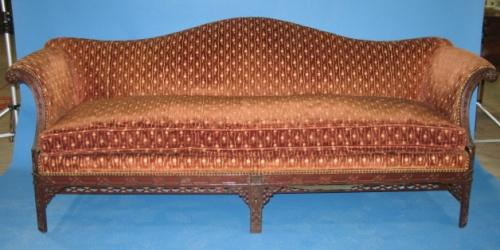 Chinese Chippendale Sofa