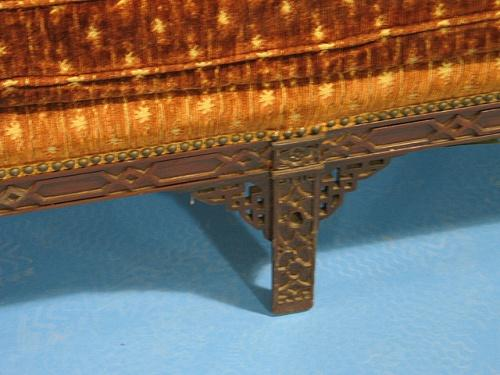 Image 3 Chinese Chippendale Sofa