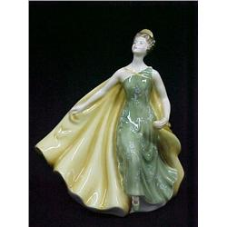 Royal Doulton lady figurine Alexandra HN 2398; co