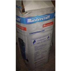 MasterCraft 20 gallons Vertical Compressor