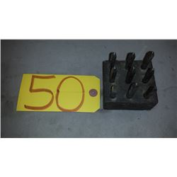 Set of Number Punches 1/8""