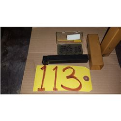 Tool Holder with CCMT 21.51 inserts