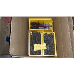 Box with assorted Screws