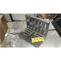 "Slotted Angle Plate 8"" X 9"" X 12"""