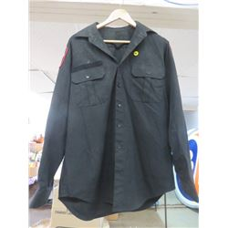 MILITARY POLICE SHIRT (SIZE 16/26)