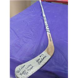 HOCKEY STICK (BAUER LIMITED EDITION) *SIGNED*