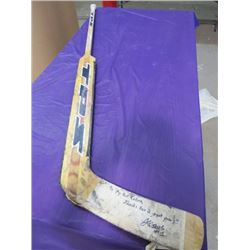 HOCKEY STICK (LECLAIRE TPS OMEGA) *SIGNED*