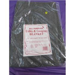 "BLANKET (ALL PURPOSE UTILITY) *60"" X 80""* (65% WOOL, 35% OTHER FIBERS)"