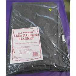 """BLANKET (ALL PURPOSE UTILITY) *60"""" X 80""""* (65% WOOL, 35% OTHER FIBERS)"""