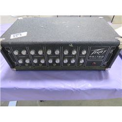 PA SYSTEM (PEAVEY) *120 MIXER AMP* (4 CHANNEL)