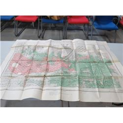 """MAP OF MANITOBA (BY AUTHORITY OF JOHN A. MACDONALD) *32.5"""" X 41.5""""*"""