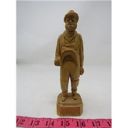 CARVED FIGURE (FROM QUEBEC) *WOOD*