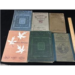 LOT OF OLD SCHOOL BOOKS