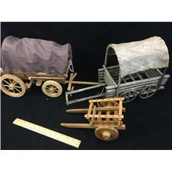 LOT OF WAGONS (HOBBY/TOY)