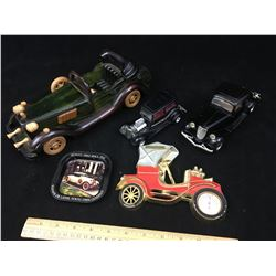 LOT OF AUTOMOBILE COLLECTIBLES