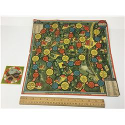 ENARCO OLD PAPER BOARD GAME (COPYRIGHT 1919)