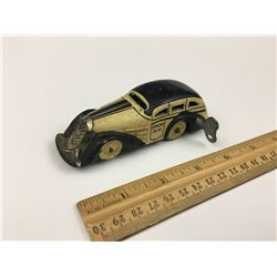 KEYWIND TRICK TAXI TIN TOY CAR (1930'S) *MARX*
