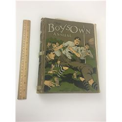 THE BOYS OWN ANNUAL HARDCOVER BOOK (1923-24)
