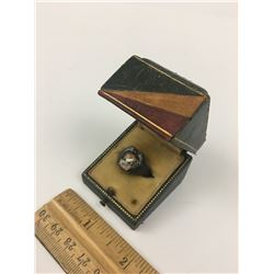 LIVERPOOL HIGH BIRKS STERLING RING AND BOX