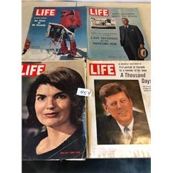 LOT OF 4 MAGAZINES (LIFE) *VINTAGE* (64-65-66-67)