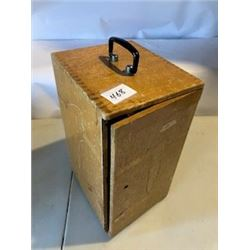 WOODEN CASE FOR MICROSCOPE