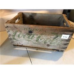COCA COLA CRATE (WOOD) *1964*